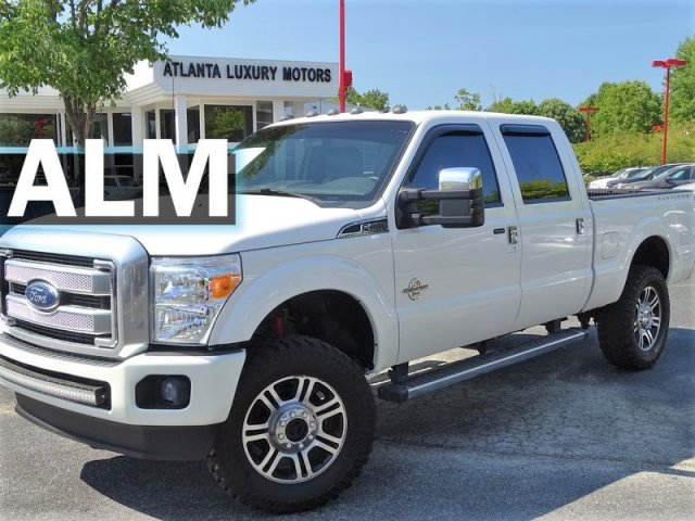 2016 Ford F250 >> Pre Owned 2016 Ford Super Duty F 250 Srw Platinum With Navigation 4wd